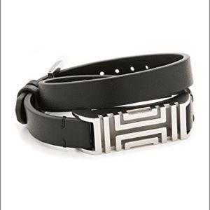 Tory Burch For Fitbit Leather Bracelet - flex